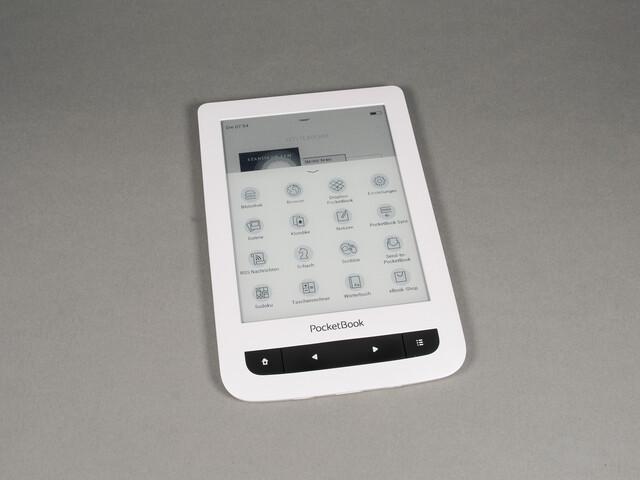 Zahlreiche zusätzliche Programme auf dem PocketBook Touch Lux 3