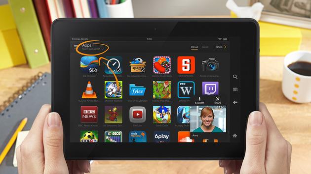 Amazon: Kindle Fire HDX 7 bis zu 110Euro günstiger