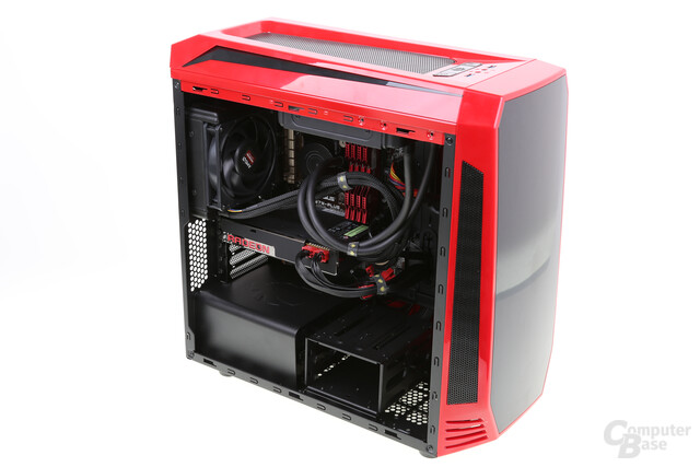 Caseking King Mod Fury X Gaming System