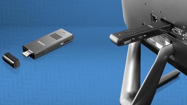 Intel Compute Stick: HDMI-Stick-PC von Lenovo, i.onik und Archos