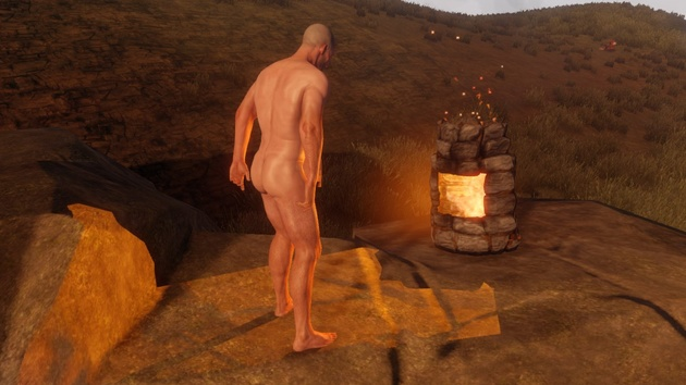 Rust: Genitalgröße des Charakters wird mit Steam-ID berechnet