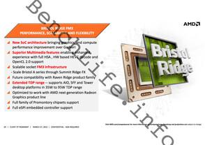 AMD-Roadmap: Weitere Details zu Stoney, Raven und Bristol Ridge