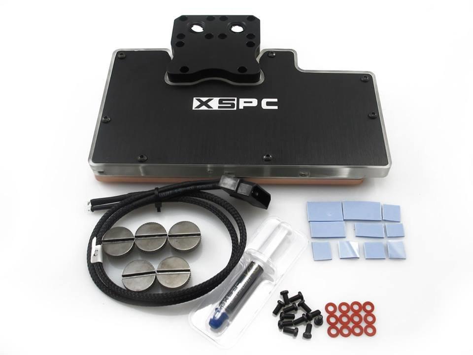 Full-Cover-Waterblock von XSPC für R9 Fury X