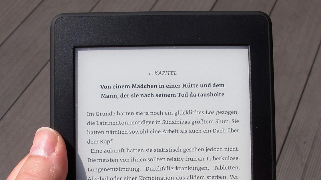 Amazon Kindle Paperwhite 2015 im Test: Der neue Paperwhite ist der bessere Voyage