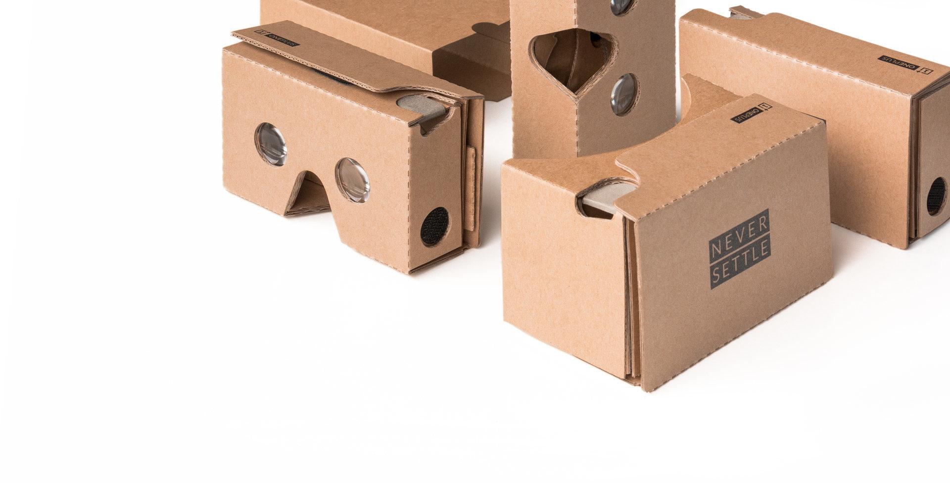 OnePlus Cardboards