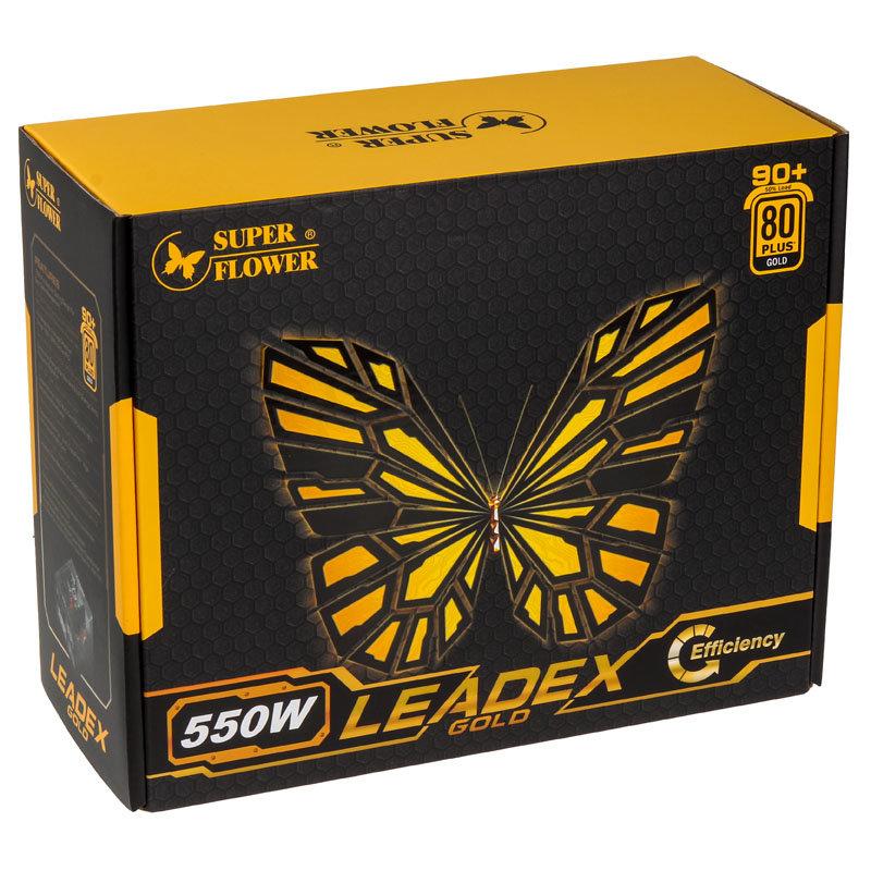 Super Flower Leadex Gold 550 Watt