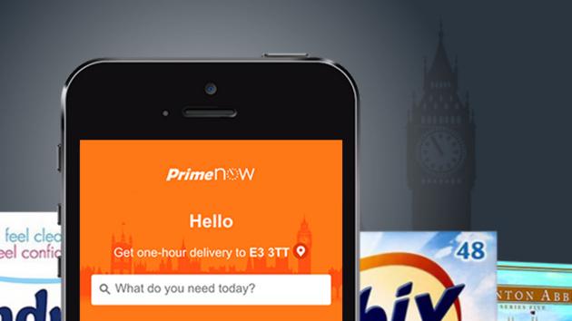 Prime Now: Amazon liefert auch in London innerhalb einer Stunde