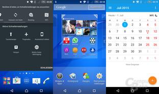 Schnellzugriffe anpassen | Homescreens verwalten | Kalender