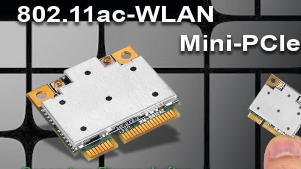 Silverstone ECW02: Mini-PCIe-Modul mit WLAN-ac als Intel-Alternative