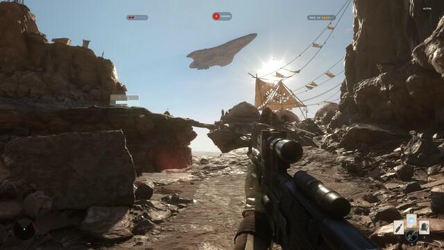 4K-Screenshot aus der Closed Alpha von Star Wars Battlefront (PC)