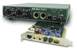 Professional E-MU 1820