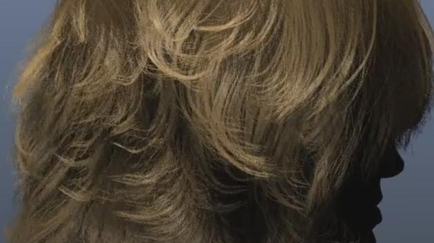 Nvidia Hairworks 1.1: Video zeigt 500.000 virtuelle Haare in Echtzeitsimulation