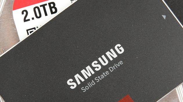 """Samsung 850 Pro 2 TB im Test: Die größte SSD für Verbraucher ist weniger """"Pro"""""""