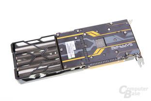 Sapphire Radeon R9 Fury Tri-X OC - Rückseite
