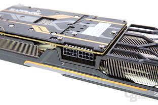 Sapphire Radeon R9 Fury Tri-X OC - Stromanschlüsse