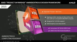 Project Skybridge sollte in 20 nm erscheinen und wurde eingestellt