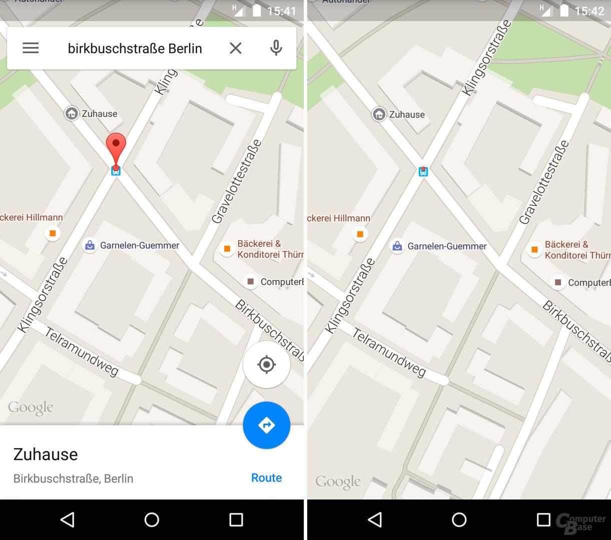 Maps 9.11: Vollbildmodus für Googles Kartendienst