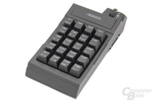 Das Makro-Modul kann auch als Nummernblock eingesetzt werden