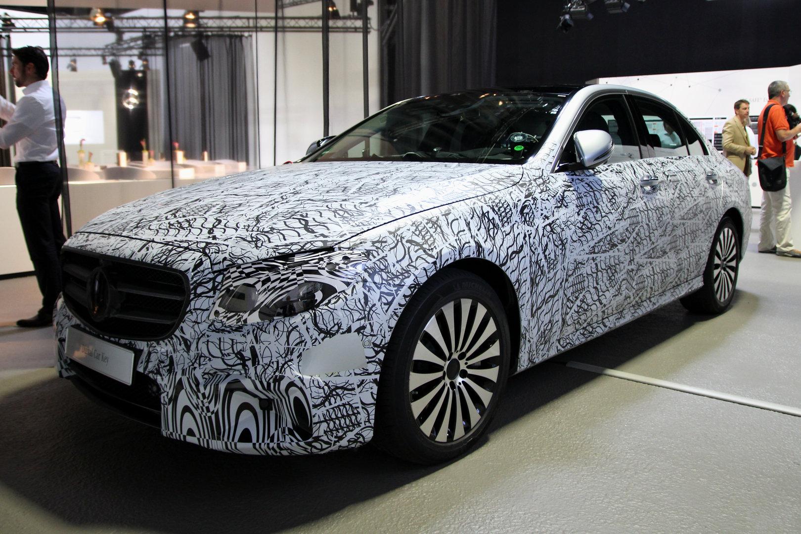 Mercedes-Benz E-Klasse des Jahrgangs 2016