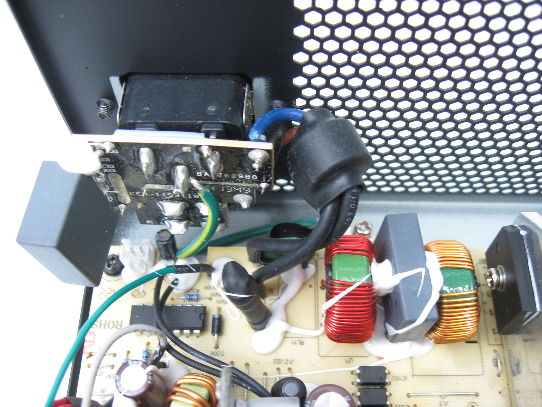 "LC-Power LC6560GP3 V2.3 ""Silver"" – Eingangsfilterung"