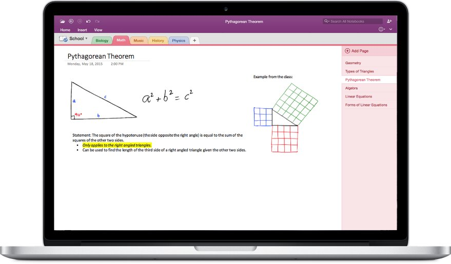 Office 2016 für Mac – OneNote