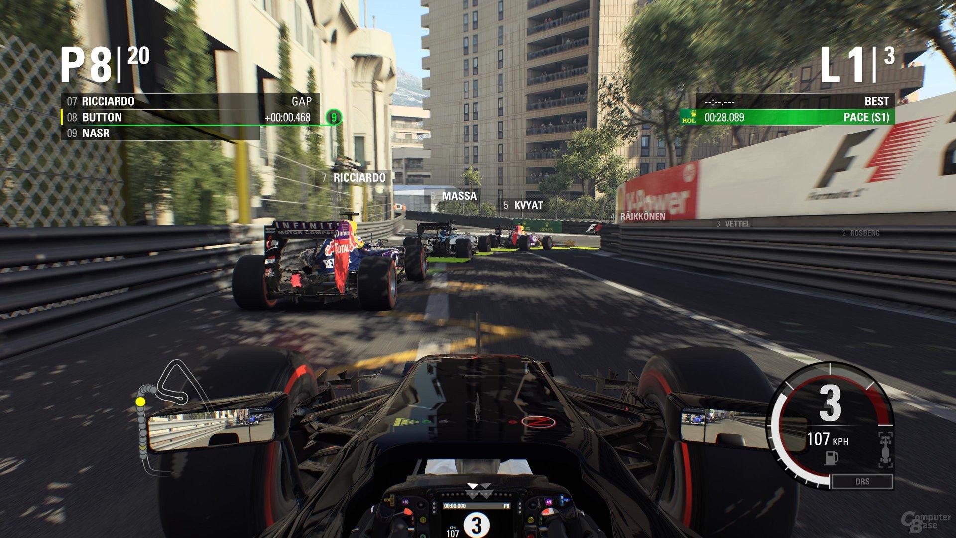 Monaco gehört zu den hübschesten Strecken im Spiel