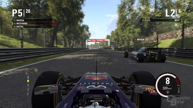 Positionskämpfe, hier in Monza, machen nun deutlich mehr Spaß