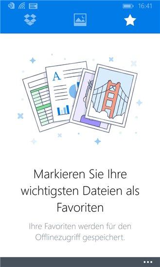 Dropbox 2.2 für Windows Phone