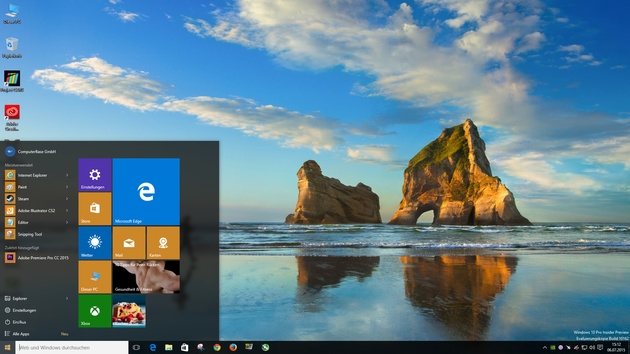 Microsoft: PCs mit Windows 10 pünktlich ab 29. Juli
