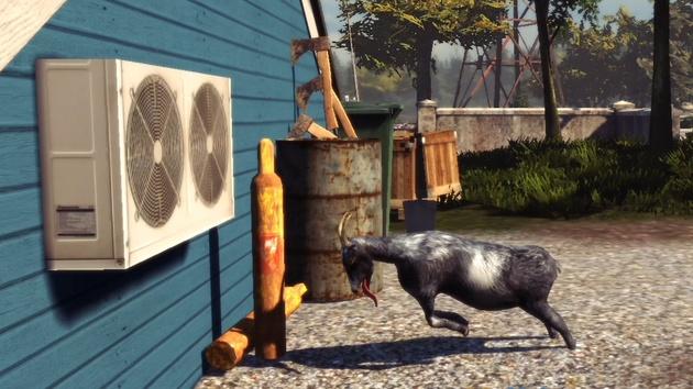 Goat Simulator: Ziegenspiel ab heute für PlayStation 4 und PlayStation 3