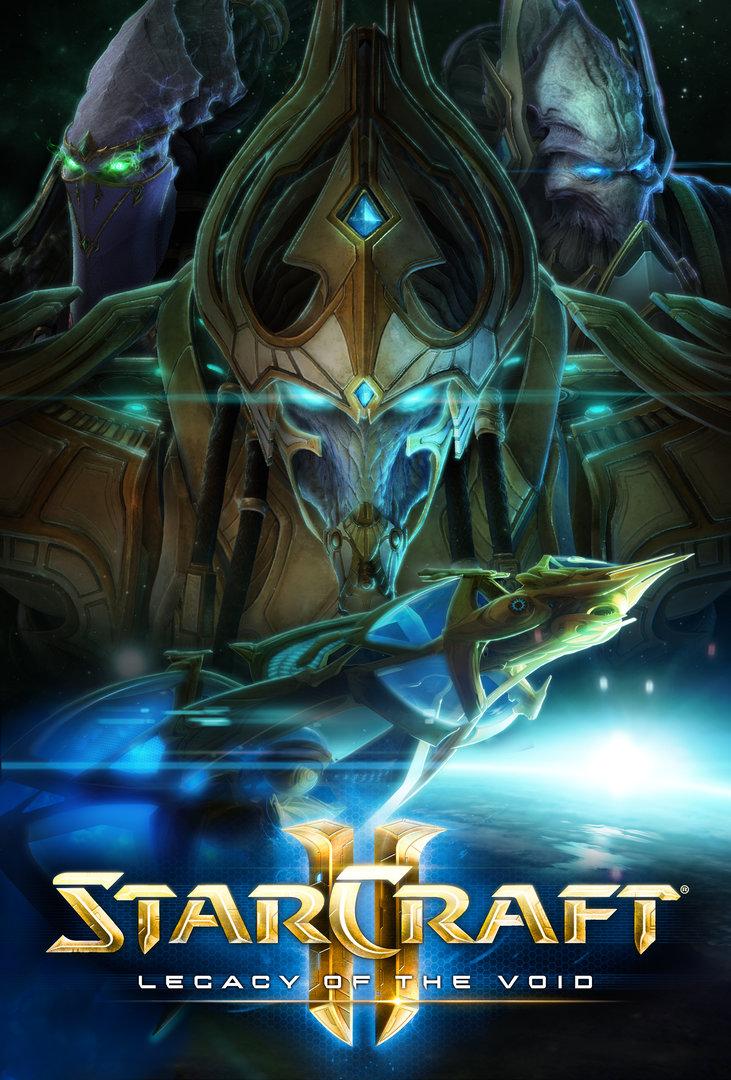 StarCraft 2: Legacy of the Void Key Art