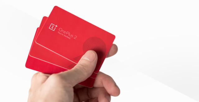 Physische Einladungen für das OnePlus 2