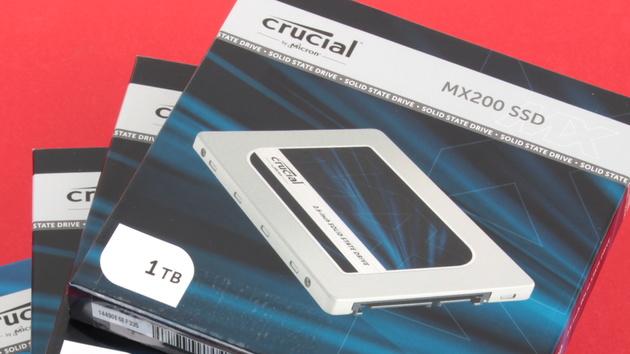 Crucial MX200 SSD: Firmware MU02 für mehr Leistung und Befehle