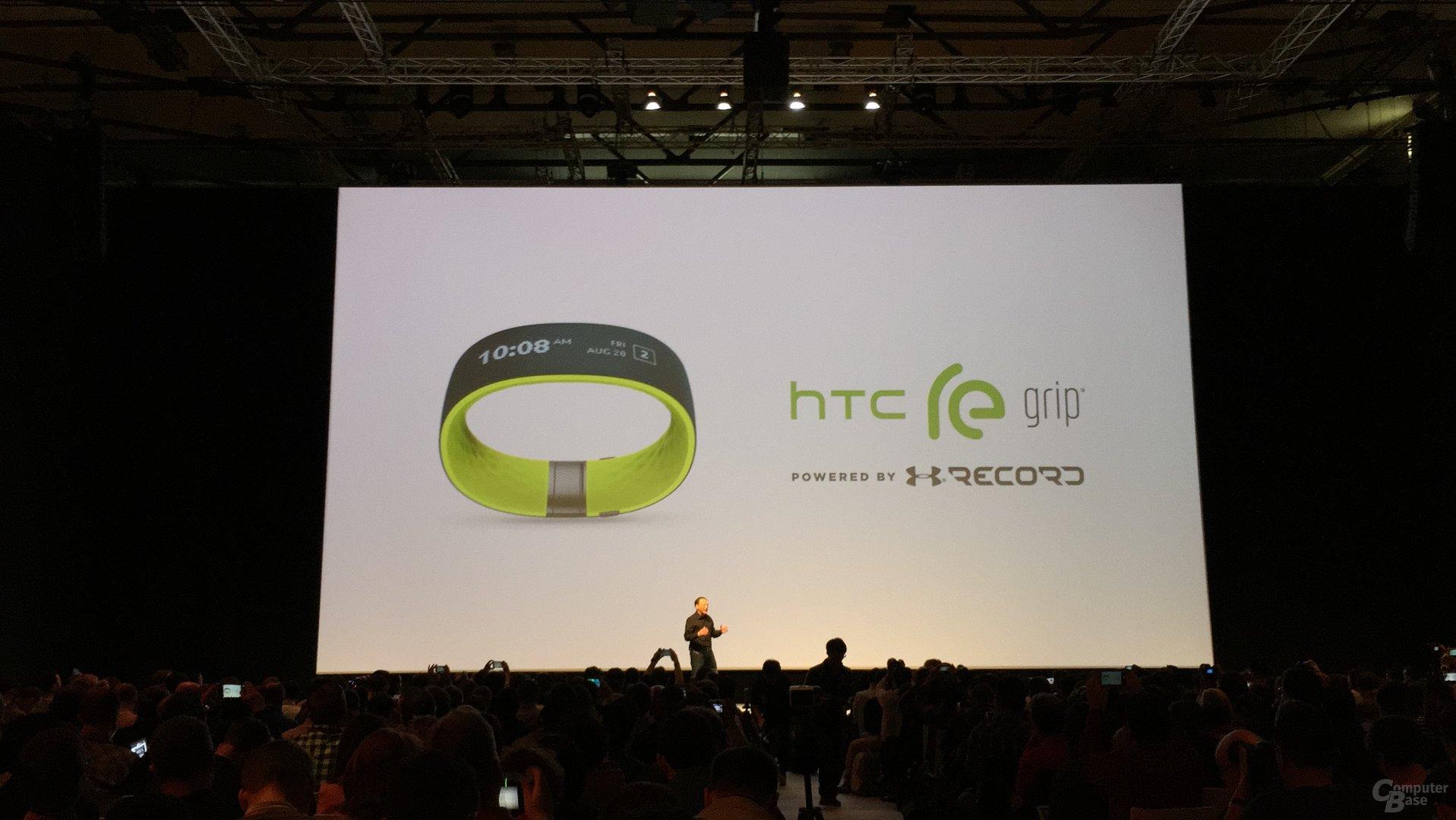 HTC Grip auf dem MWC