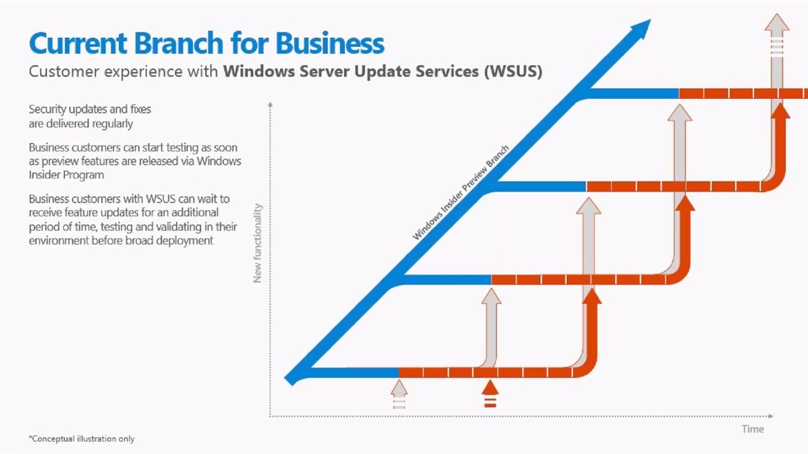 Windows 10 Current Branch for Business (WSUS)