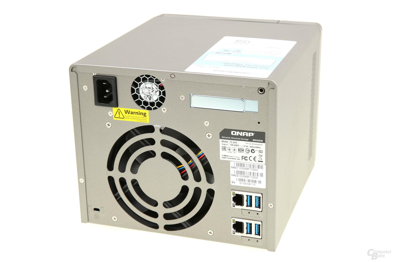QNAP TS-563 im Test