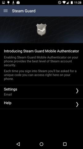 """Die neue Funktion findet sich im Menüpunkt """"Steam Guard"""""""