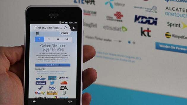 Mozilla: Firefox OS für alle entsperrten Android-Smartphones