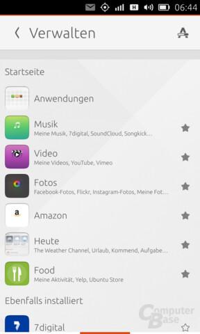 Verwalten von Apps