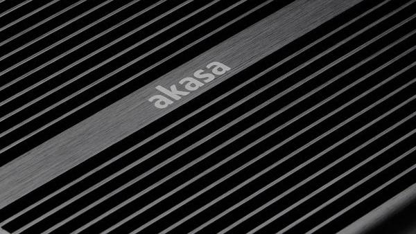 Akasa Max S und MT: Passive NUC-Gehäuse mit HDD-Dock oder Slim-Laufwerk