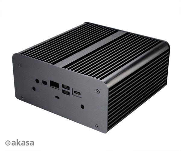 Für den Einsatz als HTPC-Gehäuse mit wechselbarem HDD-Rack konzipiert