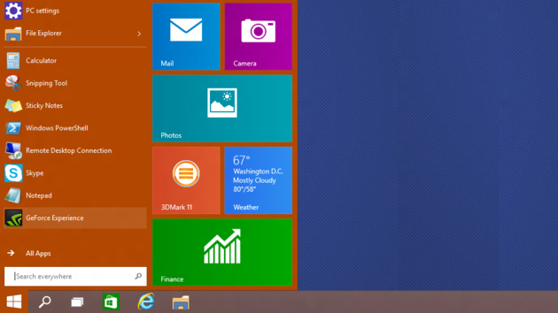 Windows 10 Update: Microsoft spendiert Windows RT ein neues altes Startmenü
