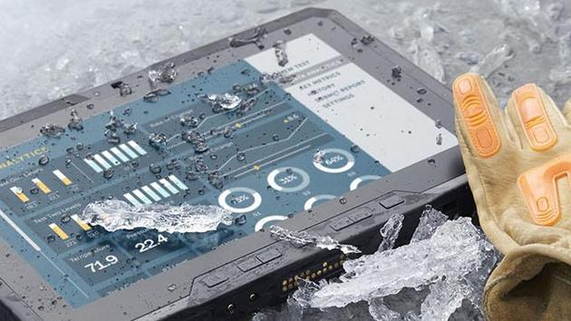 Kriegsgerät: Dell Latitude 12 Rugged Tablet für den Outdoor-Einsatz