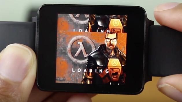 Machbarkeitsstudie: Half-Life läuft auf der ersten Uhr mit Android Wear