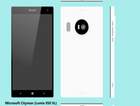 Mockup des Microsoft Cityman (Lumia 950 XL)