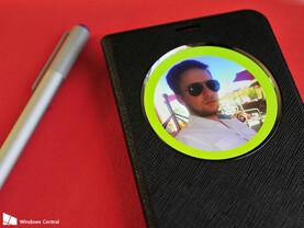 Beispiel für Smart Cover und Surface Pen