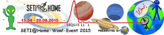 SETI@Home Wow!-Event läuft vom 15. bis 29. August