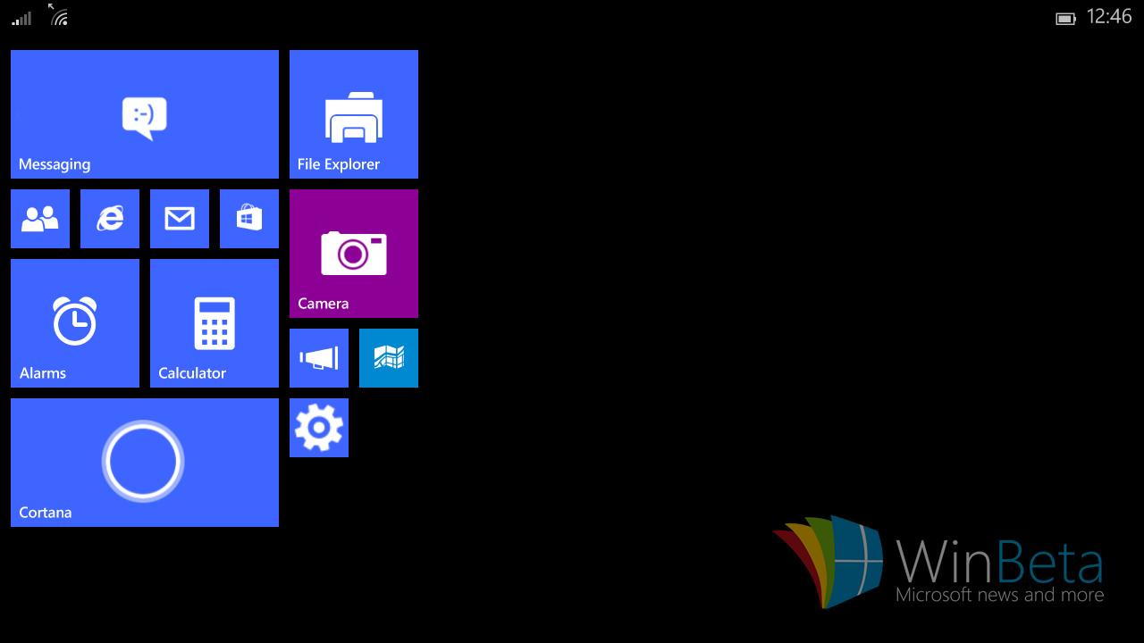Windows 10 Mobile auf Tablets unter 8 Zoll