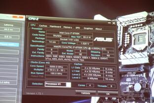 Asus beim OC: 5 GHz mit 1,52 Volt