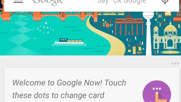 Google Now: Per Spracheingabe Texte für WhatsApp und Co. diktieren